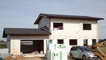 Pasivní rodinný dům na Benešovsku